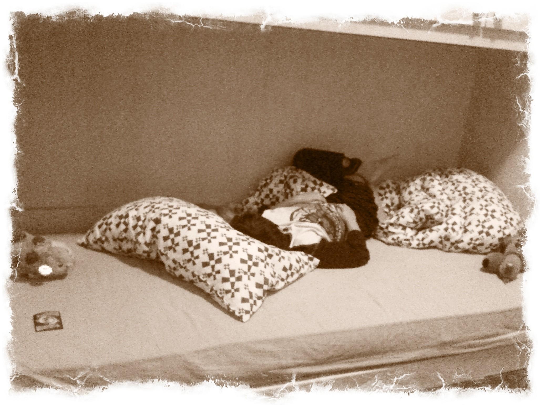 Io dormo così
